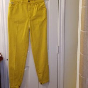 """Escada Jeans, Unworn Vintage, Zip Ankles.29"""""""